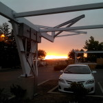 Sunrise over Buchanan Field